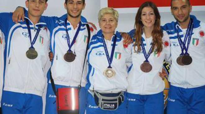 Karate: Fitness Montello ai mondiali di Dublino