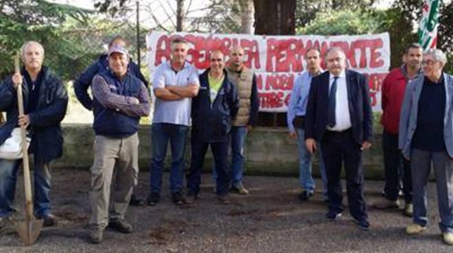 La Cisl alla Regione Lazio: incontro con i lavoratori dell'Ex Enaoli