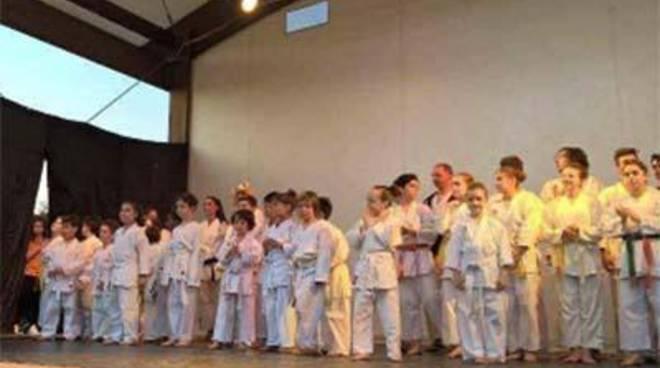 Lo spettacolo del karate Yoshokan, allo Sporting Village Eschilo 1