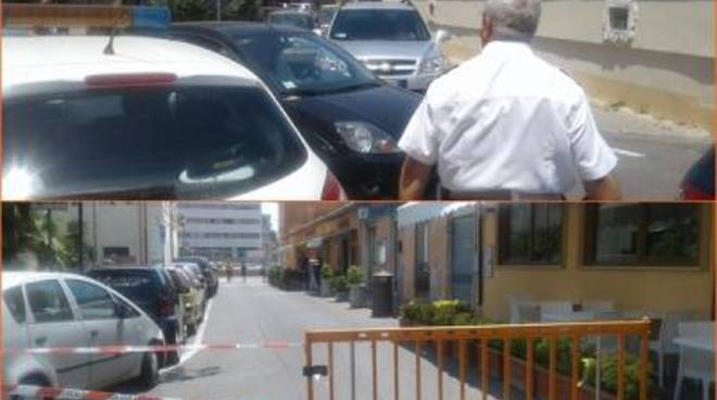 Mercato, divieti e notte bianca: traffico impazzito al centro di Fiumicino
