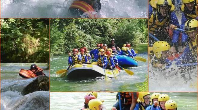 Rafting, sport e divertimento alla cascata delle Marmore