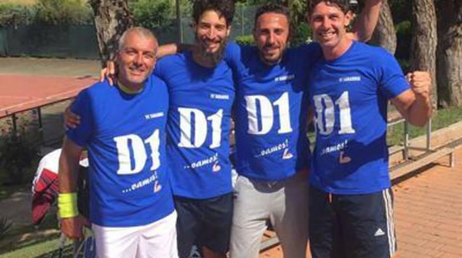 Tennis Club: arriva la promozione in D1