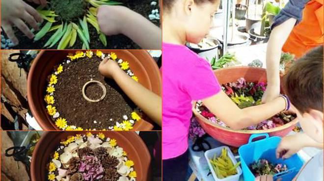 Un laboratorio (gratis) per bimbi tra le piante del vivaio