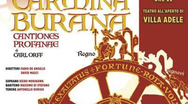 Anzio, la poesia medievale dei Carmina Burana arriva a Villa Adele