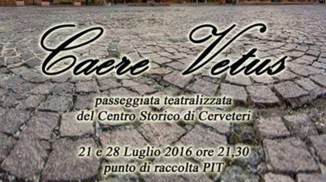 Caere Vetus: uno spettacolo teatrale alla scoperta dei personaggi e della storia di Cerveteri