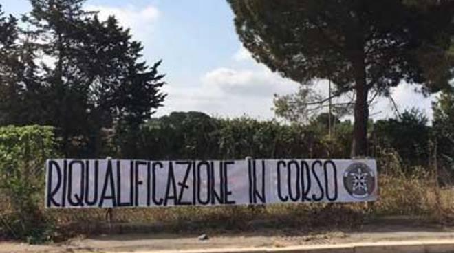 CasaPound Italia riqualifica via della Selva Piana