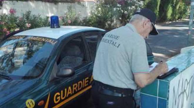 Controlli straodinari per le Guardie Ambientali di Ardea