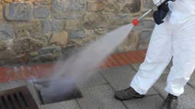 Disinfestazione e disinfezione: al via gli interventi
