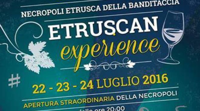 Etruscan Experience:tre serate sotto le stelle alla Necropoli della Banditaccia