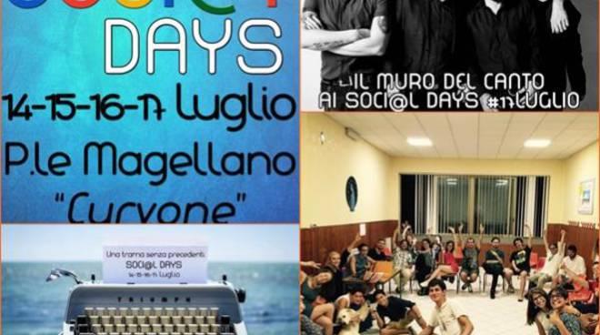 Festival delle associazioni, dal 14 al 17 luglio sbarcano sul litorale i Soci@l Days