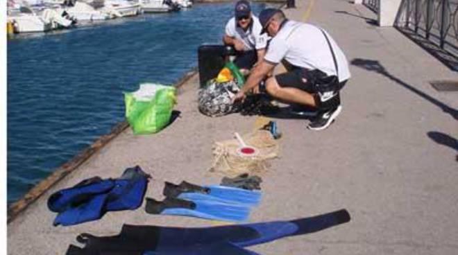 Guardia Costiera: continuano le attività di contrasto alla pesca abusiva
