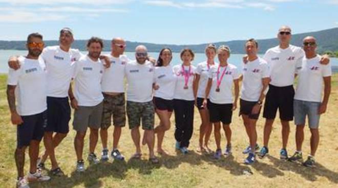Il Latina Triathlon sbarca a Roncilione per il Campionato Regionale
