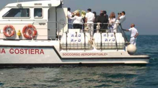 In ricordo di Andrea: cerimonia in mare con la Guardia Costiera
