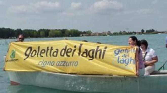 Legambiente: la Goletta dei Laghi sbarca nel Lazio
