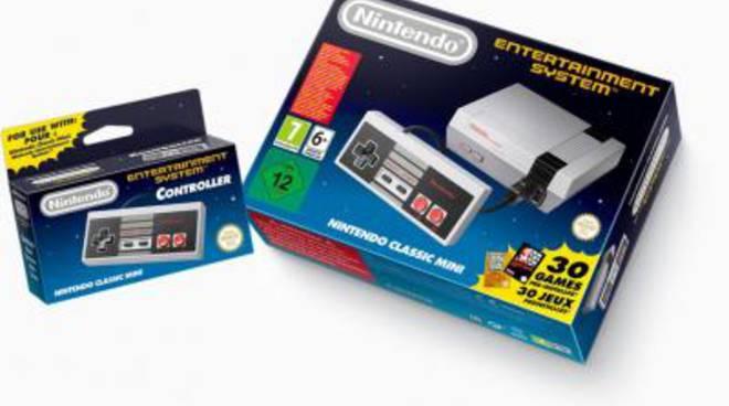 Nintendo lancia il NES mini, la nuova console