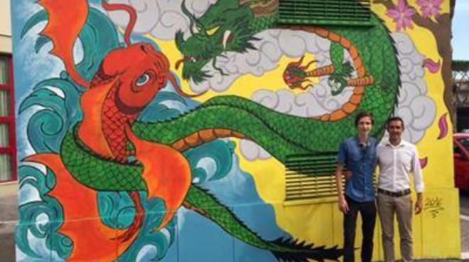Pomezia e Street Art, inaugurati i murales in via Pier Crescenzi