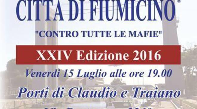 """Premio Città di Fiumicino """"Contro tutte le mafie"""": tra i premiati Franco Roberti"""
