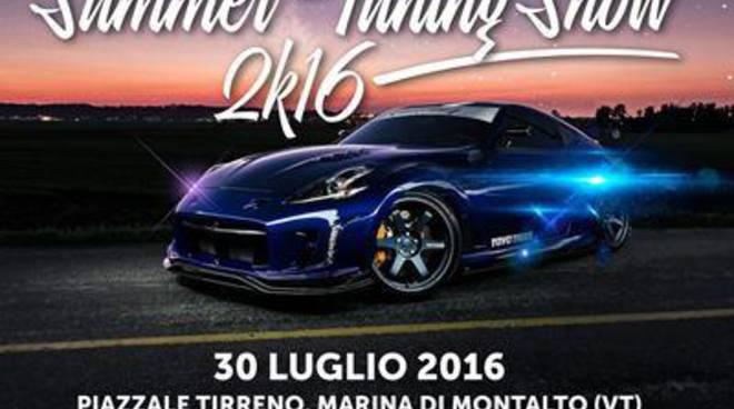 """""""Summer Tuning Show 2k16"""", tornano le auto custom sul litorale di Montalto"""