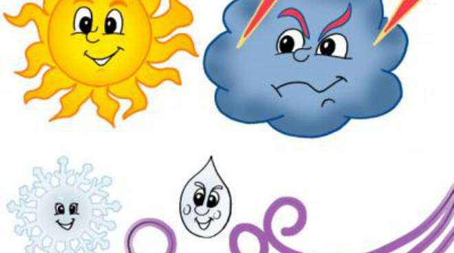 Tempo instabile, sole e temperature in rialzo da mercoledì