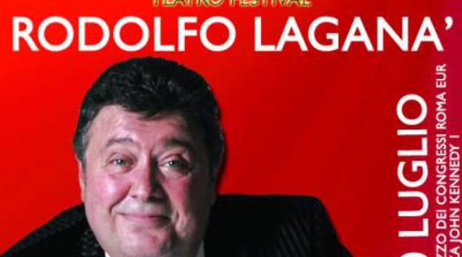 "Terrazze Teatro Festival: sabato ""Rodolfo Laganà Show"""