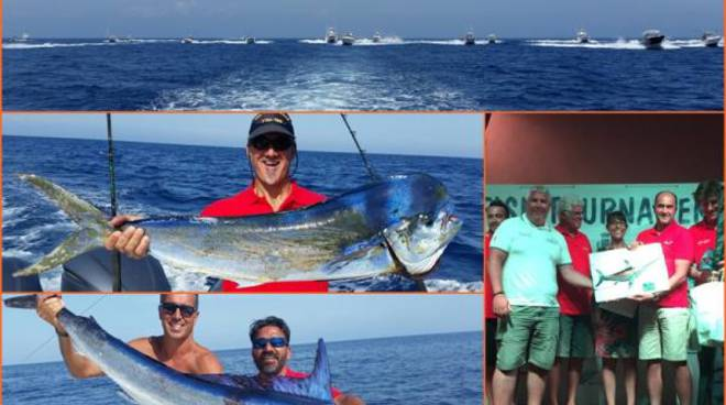 Ventotene Big fish Tournament 2016, vince Bencè