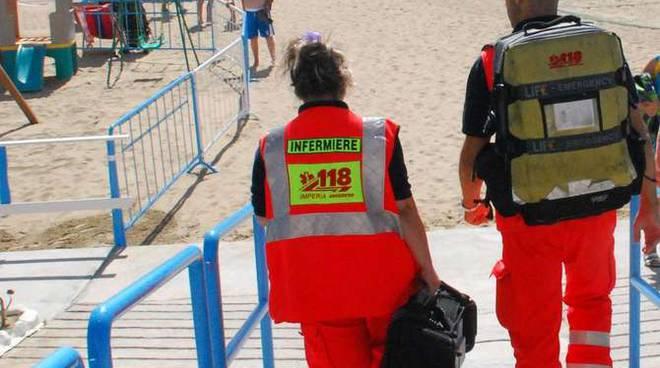 118 in spiaggia