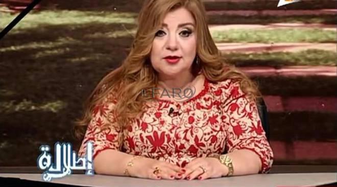conduttrice tv sovrappeso in egitto