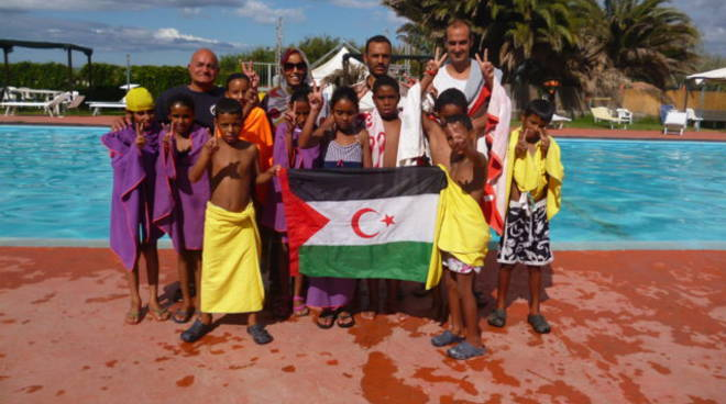 saharawi, avad, bambini, guerre, persecuzioni