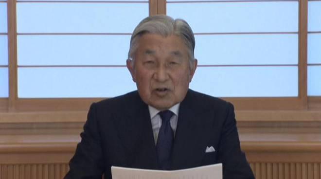 Videomessaggio dell'imperatore Akihito al Giappone