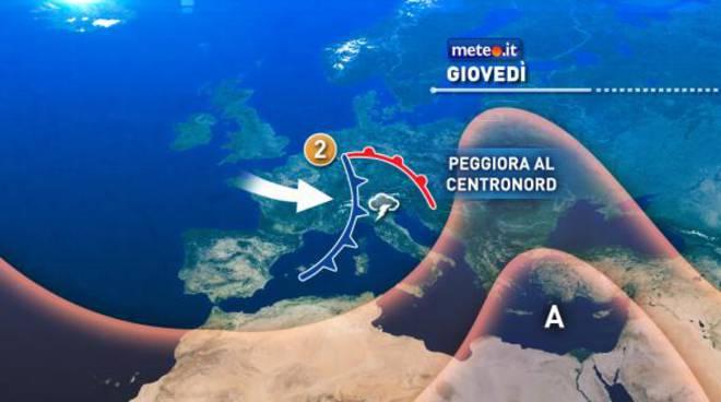 Allerta maltempo, Lazio e Sardegna le regioni più colpite