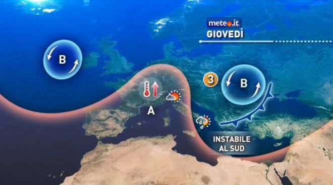 Meteo Weekend: fine settimana di tempo instabile su Isole e Calabria