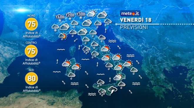 Piogge e temporali in arrivo: la Sicilia in ginocchio