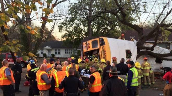 Usa: incidente scuolabus in Tennessee, morti 6 bambini