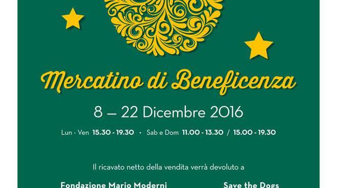 A Natale, regala la solidarietà con Fondazione Mario Moderni: al via il tradizionale Mercatino di Beneficenza della Capitale