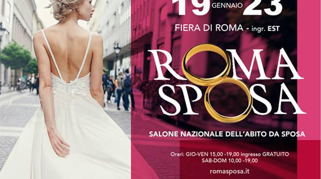 RomaSposa 2017, dal 19 al 23 gennaio in mostra le novità del wedding