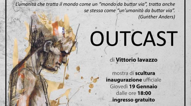"""Arte, Galleria Moderni: l\'illustratore Iavazzo in mostra con la sua \""""Outcast\"""""""