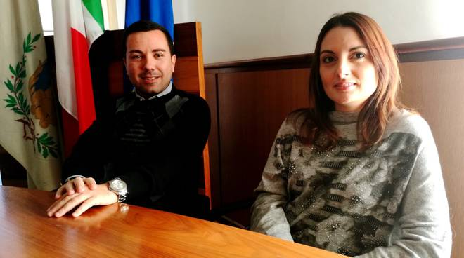 gli assessori Giovanni Corona e Marco La Monica e la delegata al turismo Silvia Nardi,