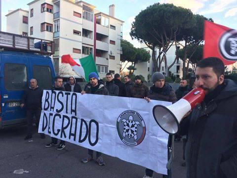 protesta contro buche