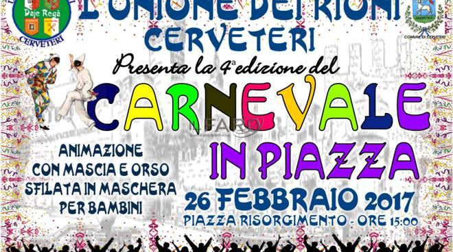 4^ Edizione del Carnevale in Piazza