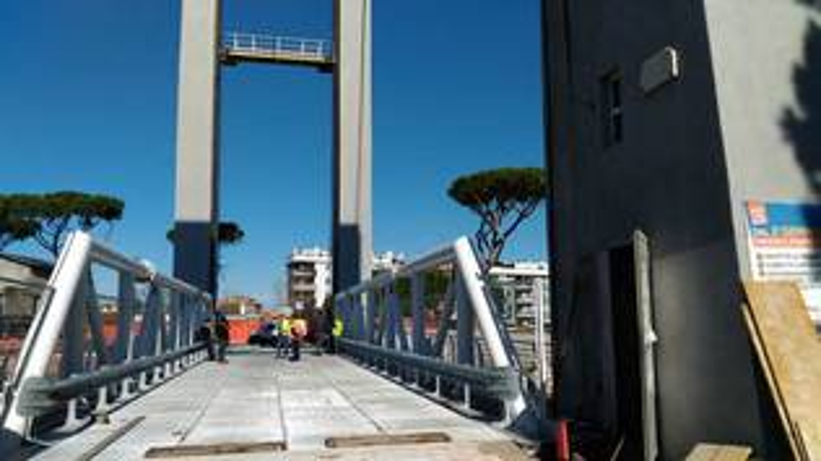 collaudo Ponte 2 giugno Fiumicino