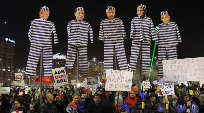 proteste romania
