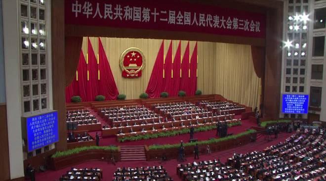 congresso nazionale del popolo a Pechino