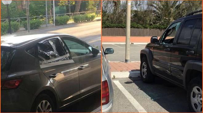 furti, auto con vetri rotti sul lungomare