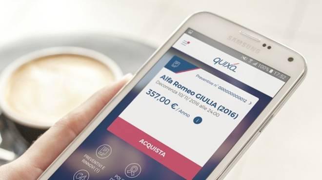 Quixa, l'assicurazione online, arriva sul tuo smartphone!