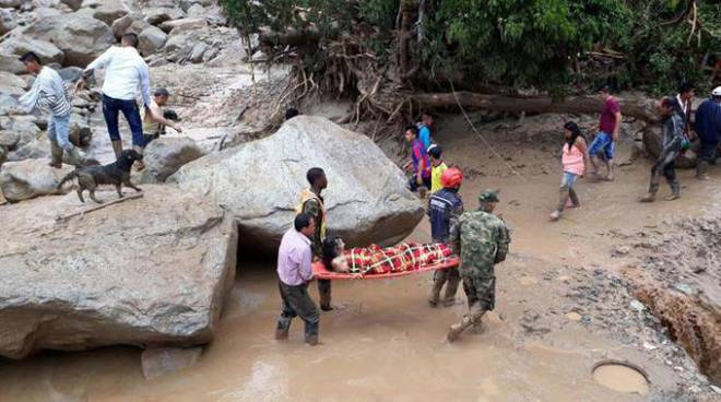 Disastro in Colombia, numero dei morti salito a 154