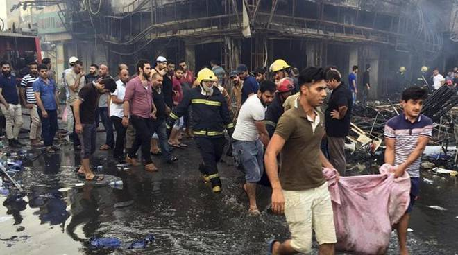 autobomba isis a baghdad