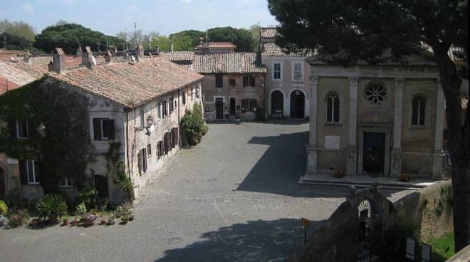 borgo medievale di ostia