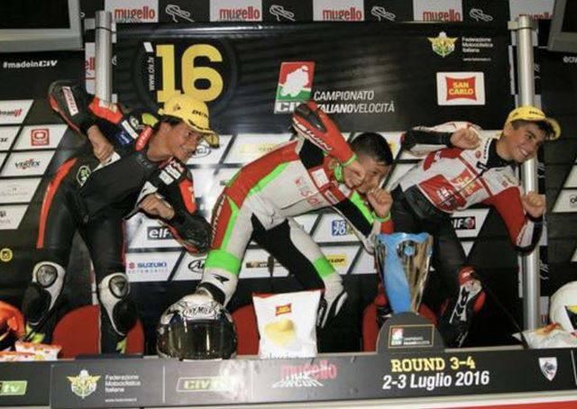 Gabriele Giannini premiato come Sportivo Anziate dell'anno