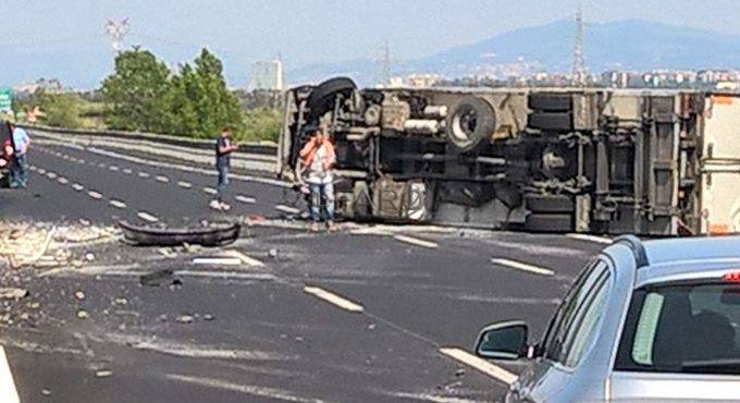 incidente roma fiumicino