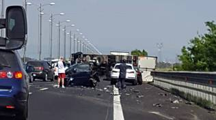 incidente roma fiumicino